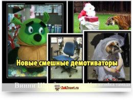 Новые смешные демотиваторы (20 фото)