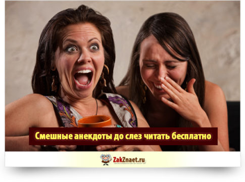 Смешные анекдоты до слез читать бесплатно
