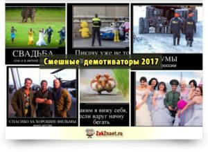 Смешные демотиваторы 2017